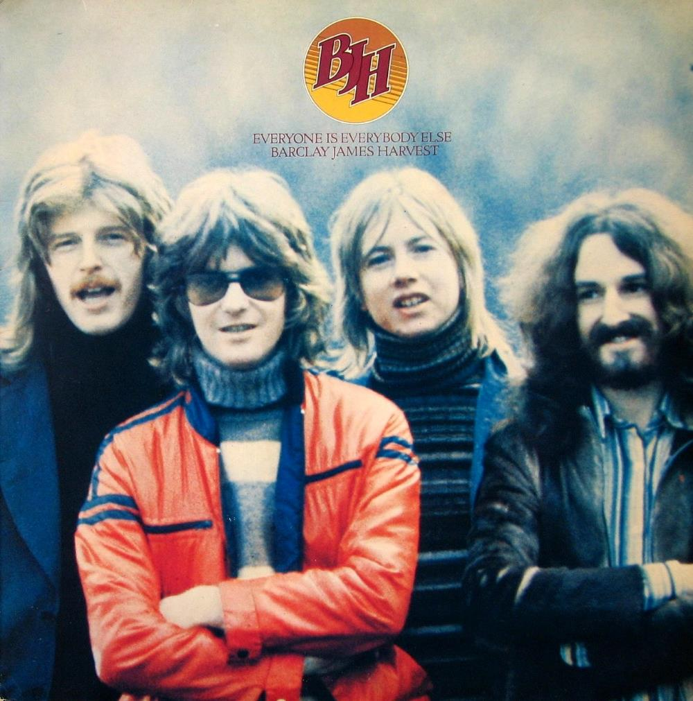 Everyone Is Everybody Else by BARCLAY JAMES  HARVEST album cover