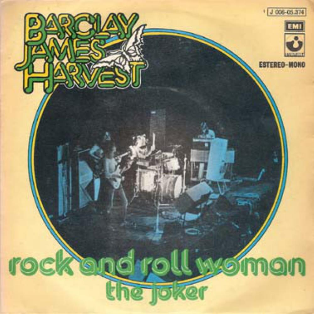 Barclay James  Harvest - Rock And Roll Woman / The Joker CD (album) cover