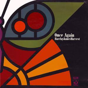 Barclay James  Harvest Once Again album cover