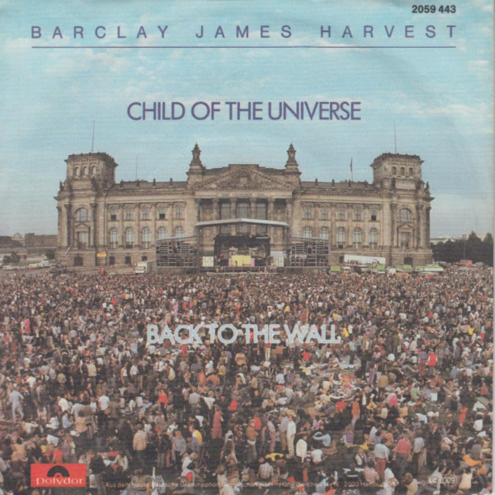 Barclay James  Harvest Child of the Universe / Back to the Wall album cover
