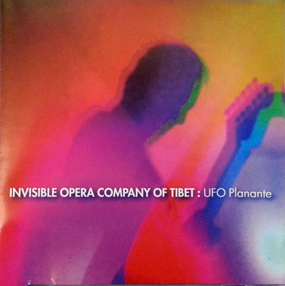 UFO Planante by INVISIBLE OPERA COMPANY OF TIBET (BRAZIL) album cover