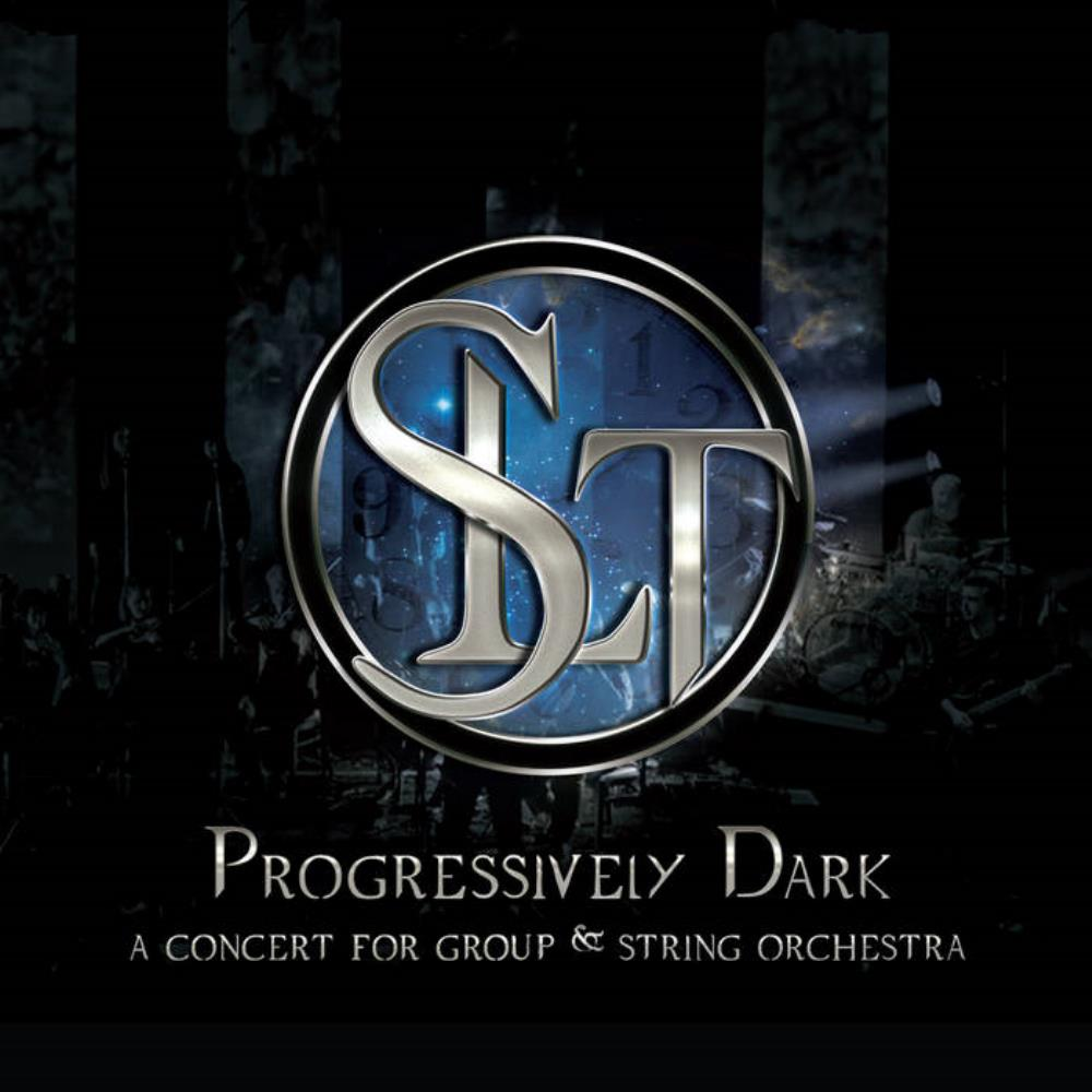 Progressively Dark (A Concert For A Group & String Orchestra) by SL THEORY album cover