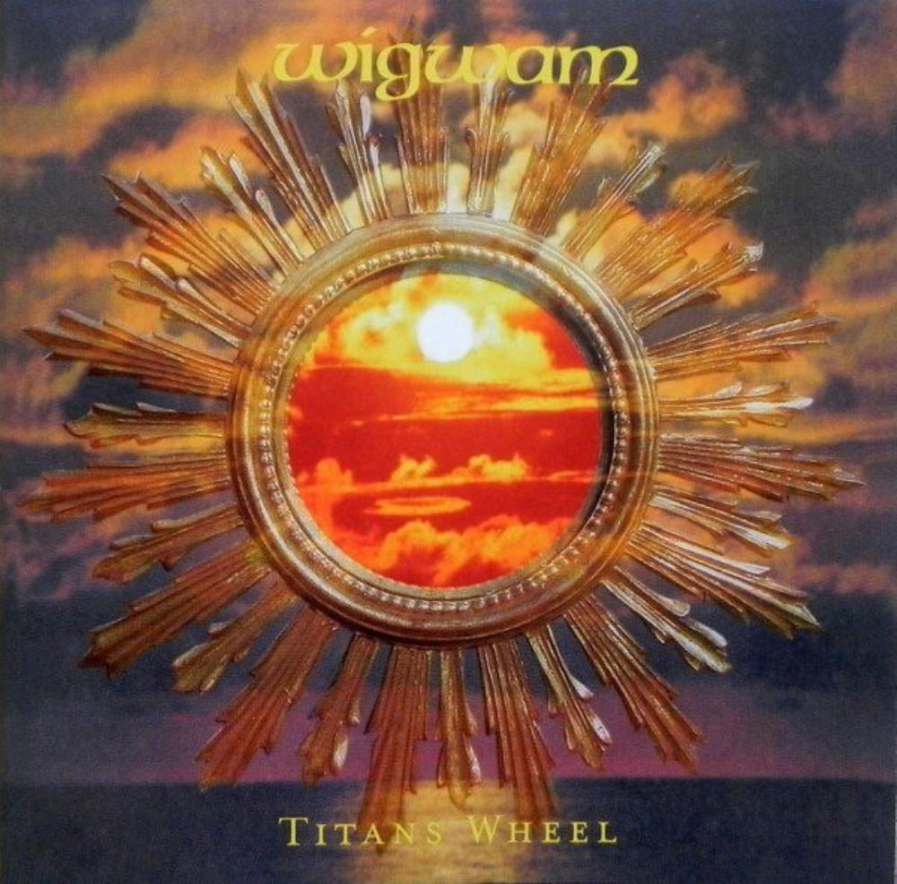 Wigwam - Titans Wheel CD (album) cover
