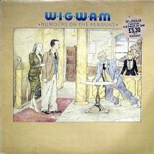 Wigwam - Rumours on the Rebound CD (album) cover