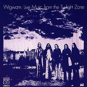 Live Music From the Twilight Zone  by WIGWAM album cover