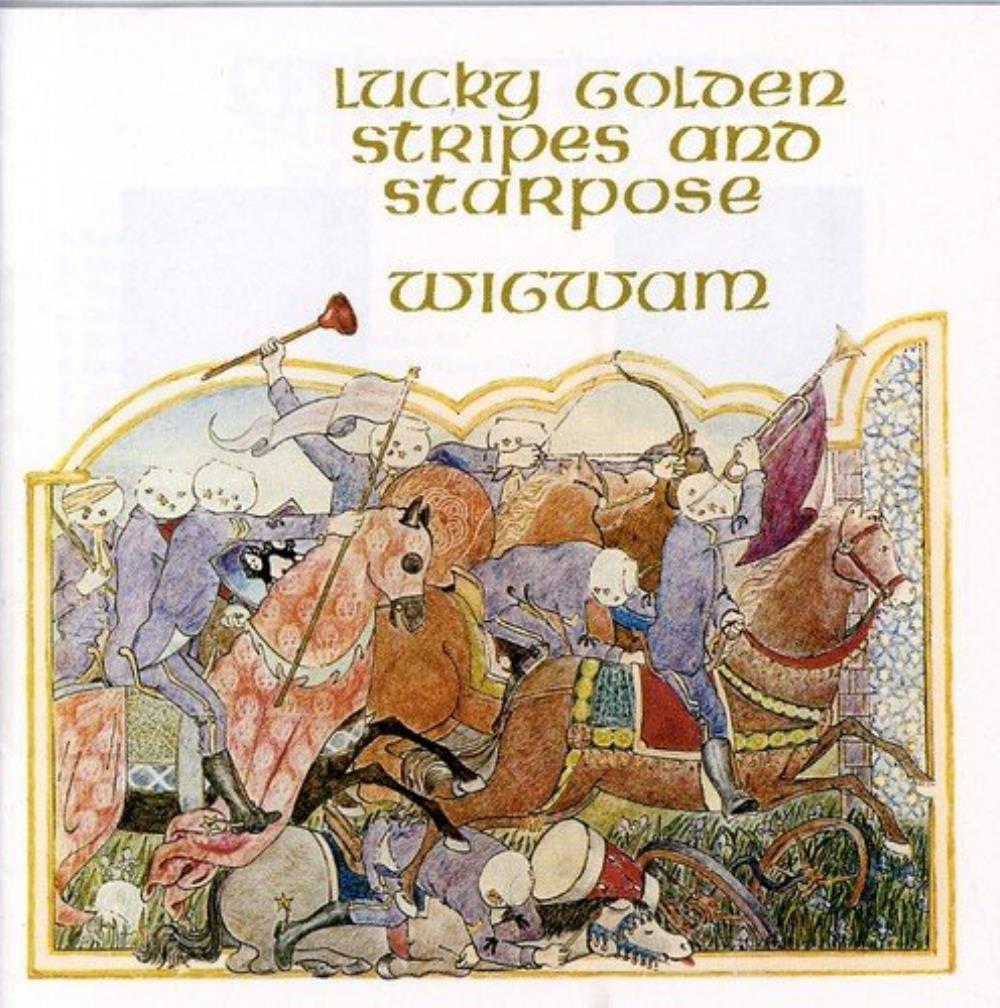 Wigwam - Lucky Golden Stripes And Starpose CD (album) cover