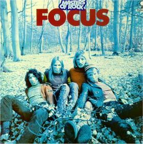 Focus - Masters of Rock 1971 - 1973 CD (album) cover