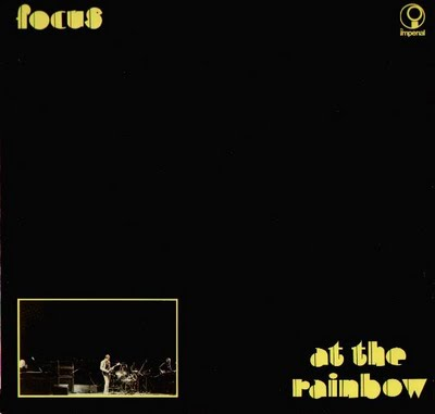 Focus - Live At The Rainbow CD (album) cover