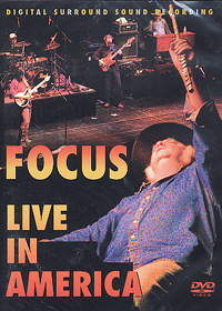 Focus - Live In America CD (album) cover