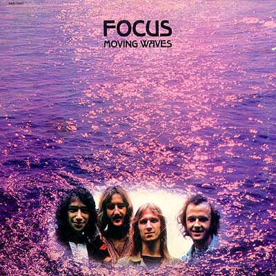 Focus - Moving Waves [also released as: Focus II] CD (album) cover