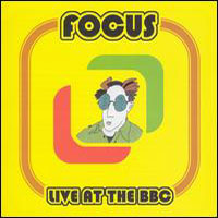 Focus - Live at the BBC CD (album) cover