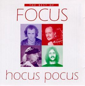Focus - Hocus Pocus: The Best Of Focus CD (album) cover