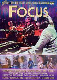 Focus - Masters From The Vault CD (album) cover