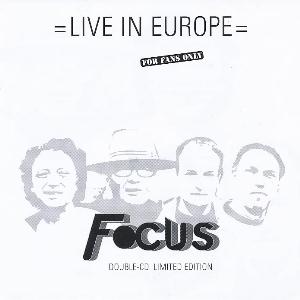 Focus Live In Europe album cover