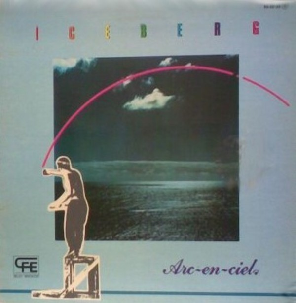Iceberg - Arc-en-ciel  CD (album) cover