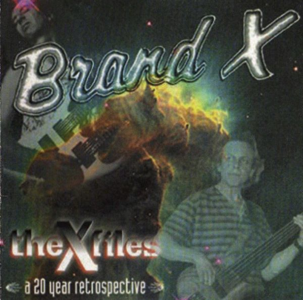 Brand X - The X Files  CD (album) cover