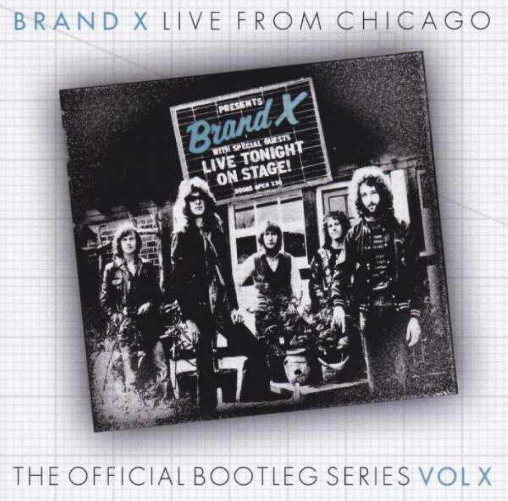 Brand X Live from Chicago album cover