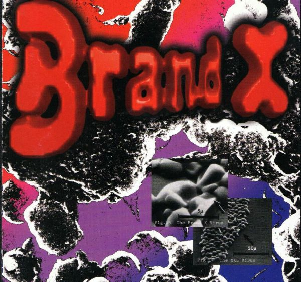 Brand X - Manifest Destiny CD (album) cover