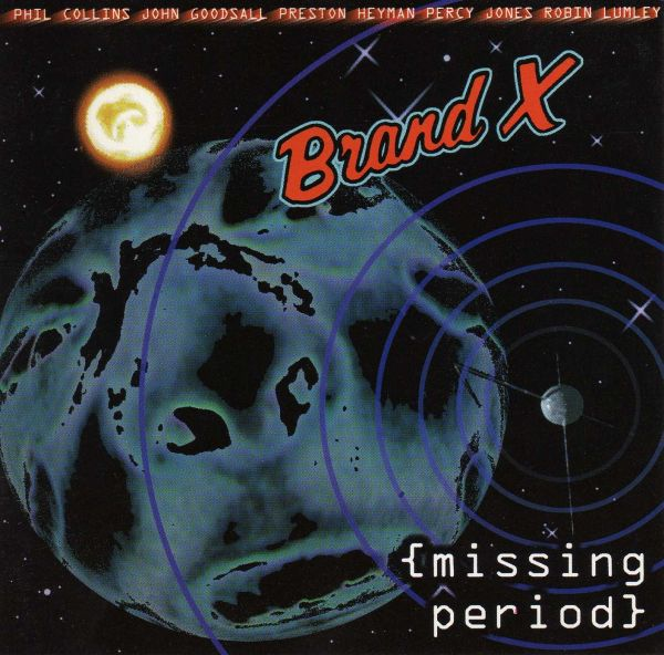 Brand X - Missing Period CD (album) cover
