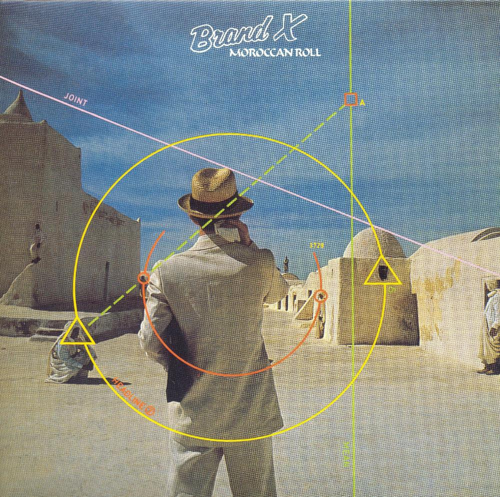 Brand X - Moroccan Roll CD (album) cover