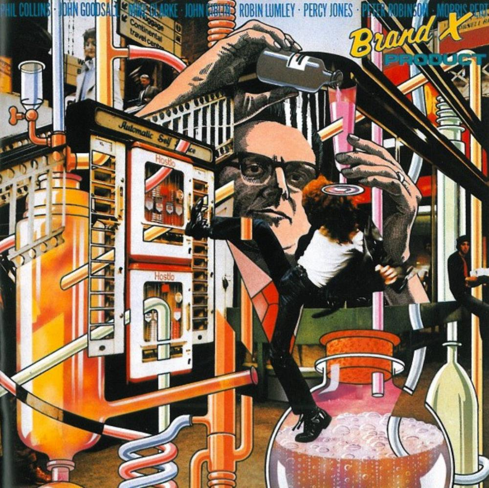 Brand X - Product CD (album) cover