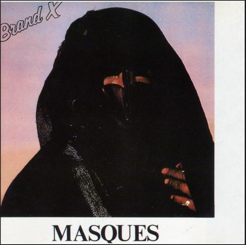 Brand X - Masques CD (album) cover