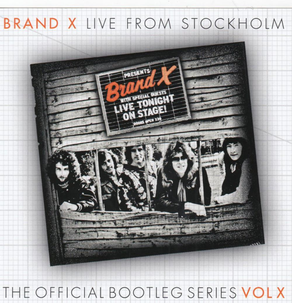Brand X - Live from Stockholm CD (album) cover