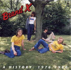 Brand X - Brand X - A History 1976-1980 CD (album) cover