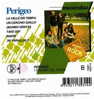 Perigeo I grandi Del Rock album cover