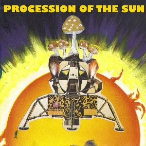K�smonaut - Procession Of the Sun CD (album) cover