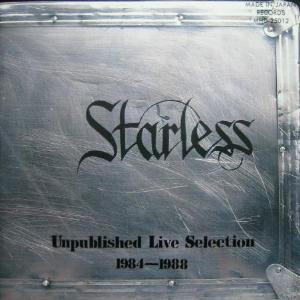 Starless Unpublished Live Selection 1984-88 album cover