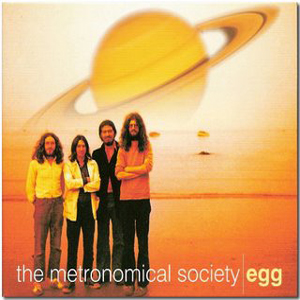 Egg - The Metronomical Society CD (album) cover