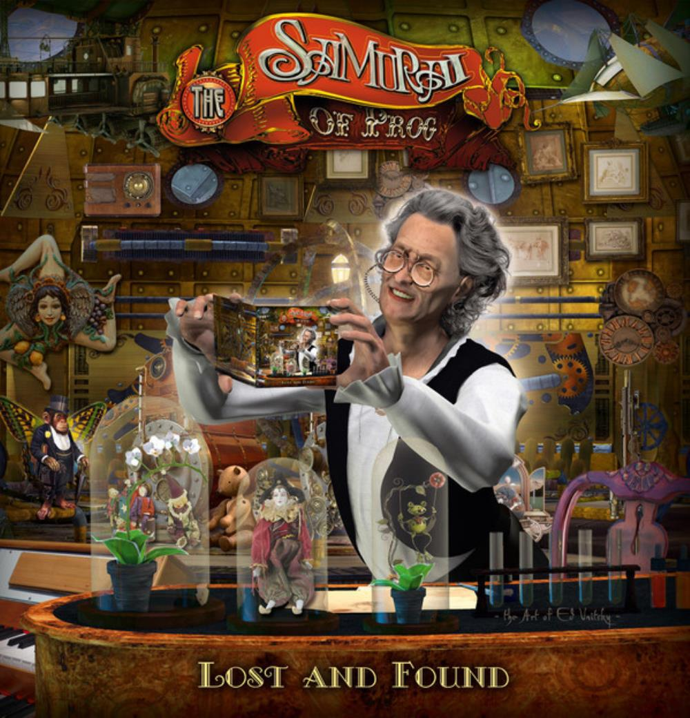 The Samurai Of Prog - Lost And Found CD (album) cover