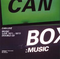 Box Music (Live 1971-1977) by CAN album cover