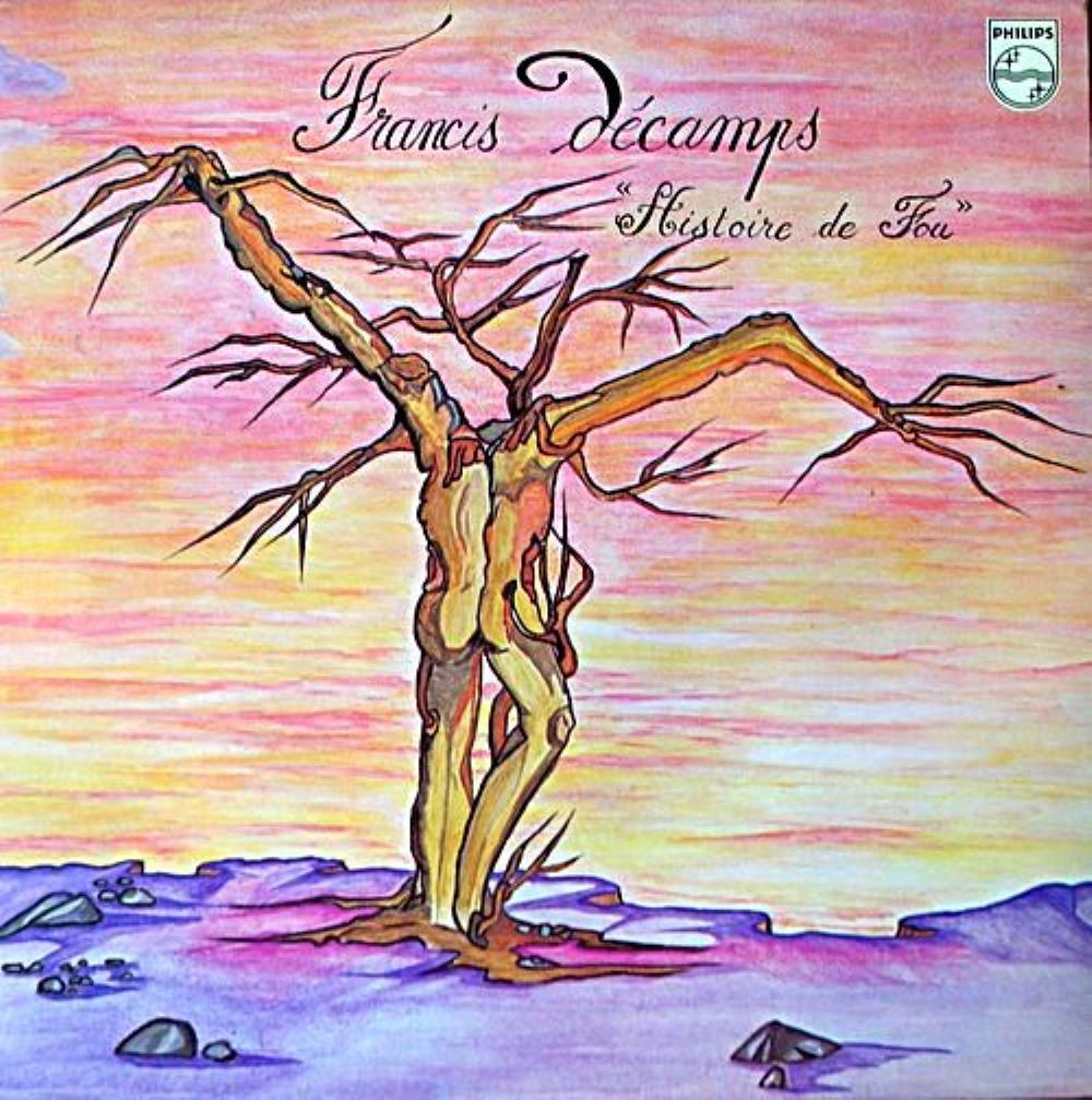 Histoire De Fou by DÉCAMPS, FRANCIS album cover