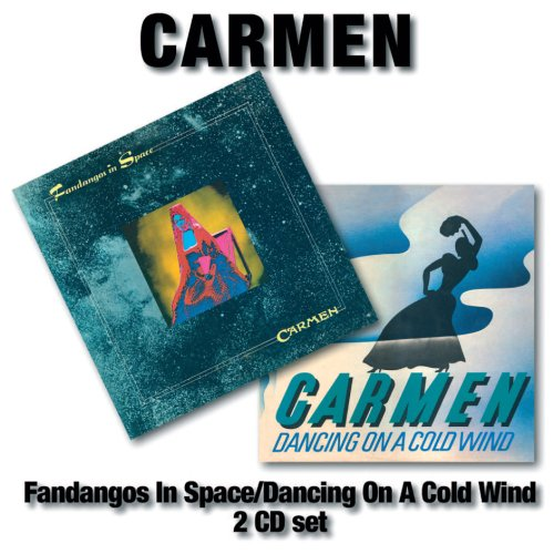 Carmen Fandangos In Space/Dancing On A Cold Wind album cover
