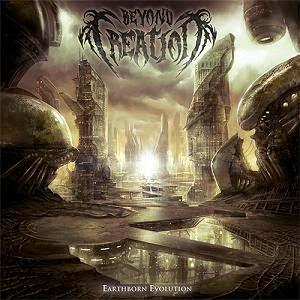 Earthborn Evolution by BEYOND CREATION album cover