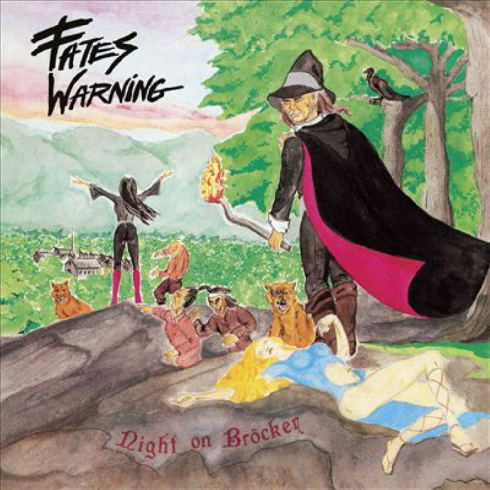 Night On Bröcken by FATES WARNING album cover