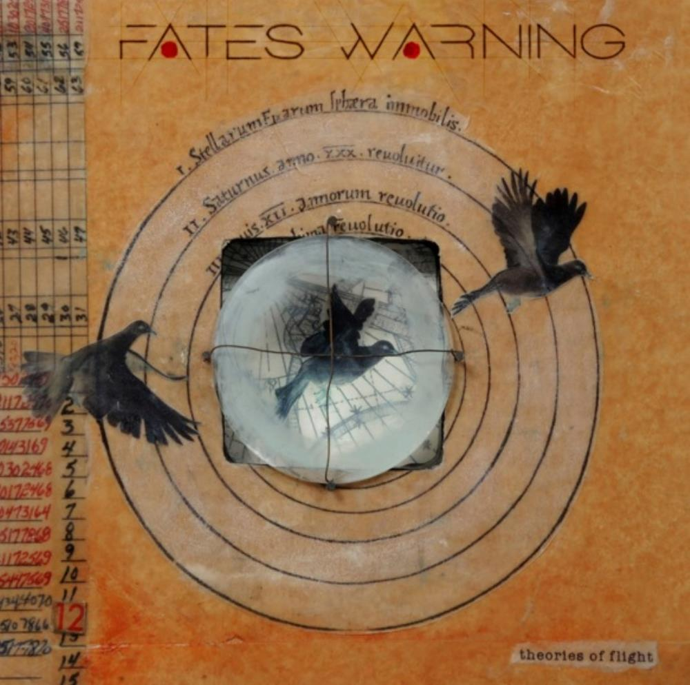 Theories of Flight by FATES WARNING album cover