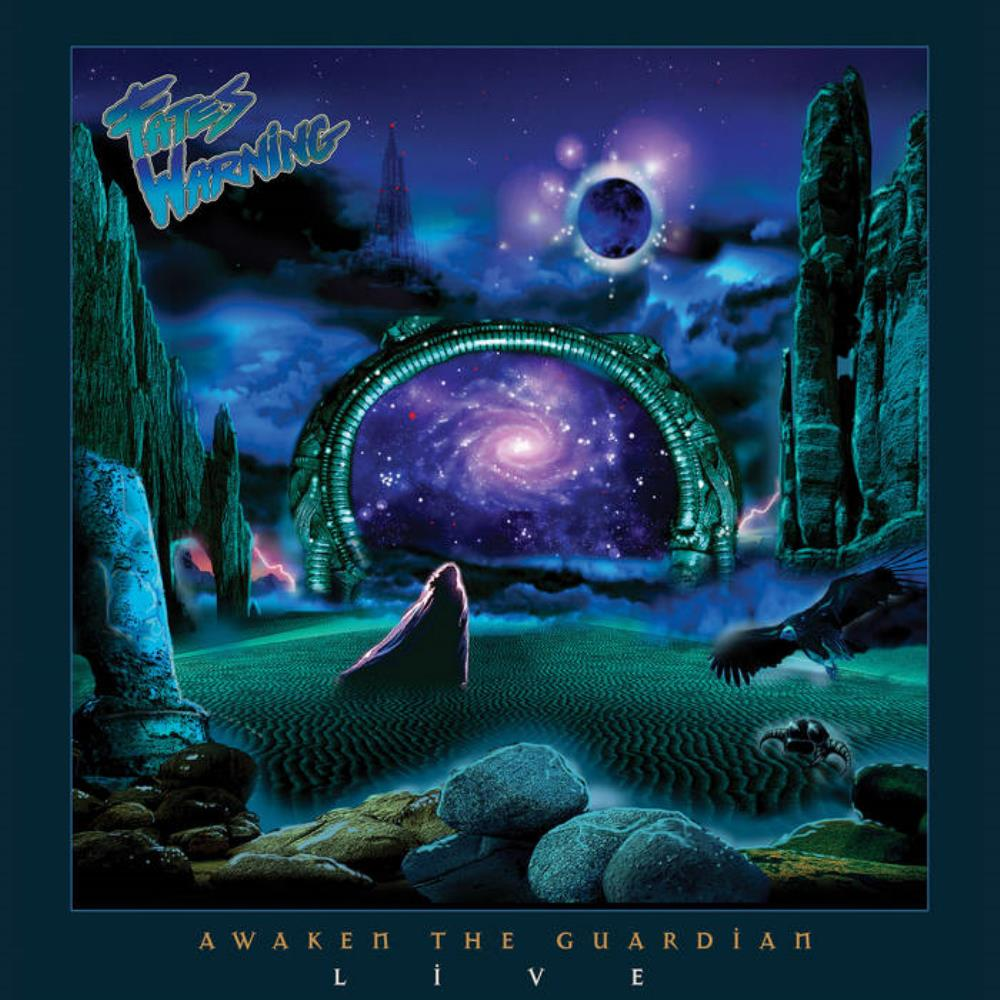 Awaken the Guardian Live by FATES WARNING album cover