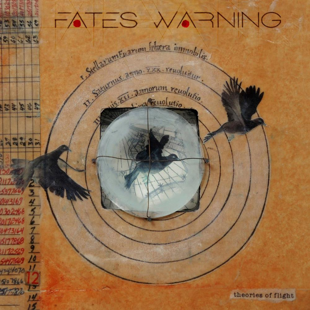 Fates Warning - Theories Of Flight CD (album) cover