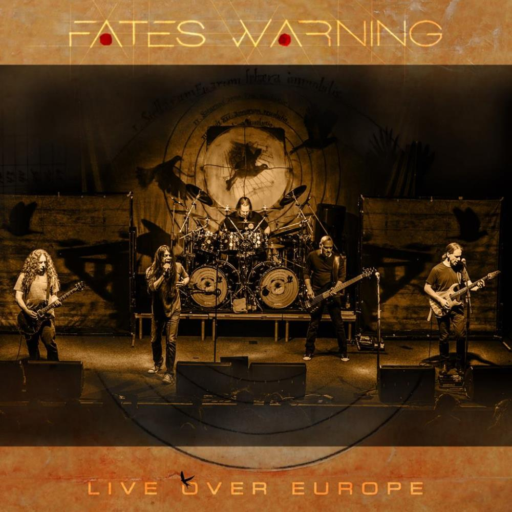 Fates Warning - Live over Europe CD (album) cover