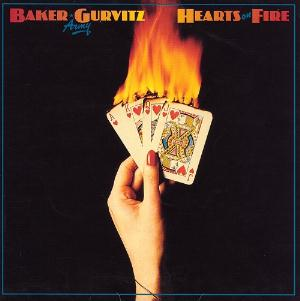 Hearts on Fire by BAKER GURVITZ ARMY album cover