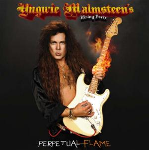 Yngwie Malmsteen Perpetual Flame album cover
