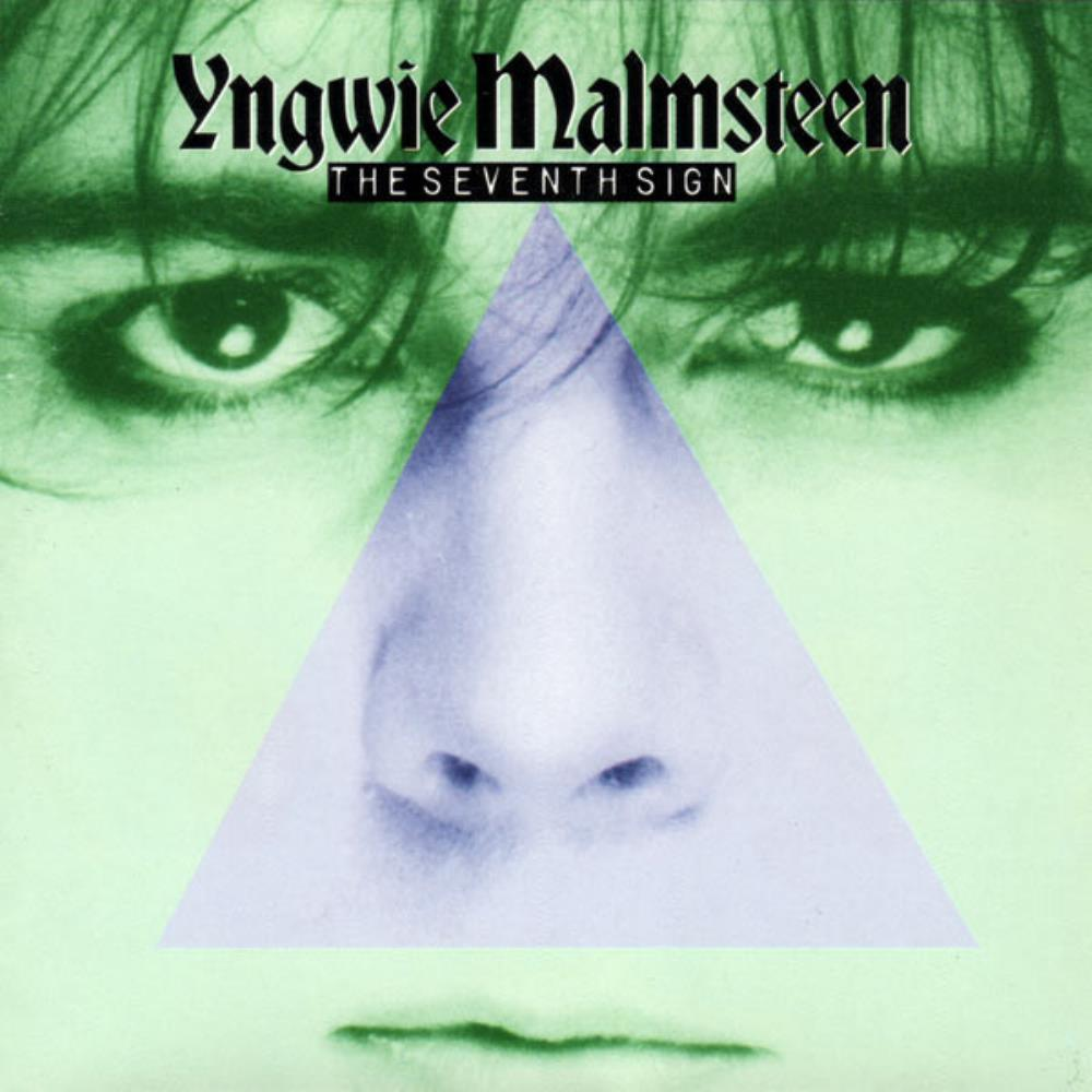 Yngwie Malmsteen - The Seventh Sign CD (album) cover