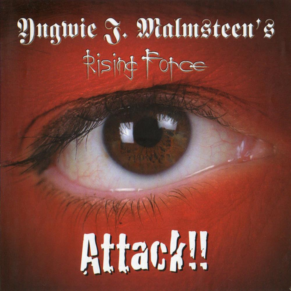 Rising Force: Attack !! by MALMSTEEN, YNGWIE album cover