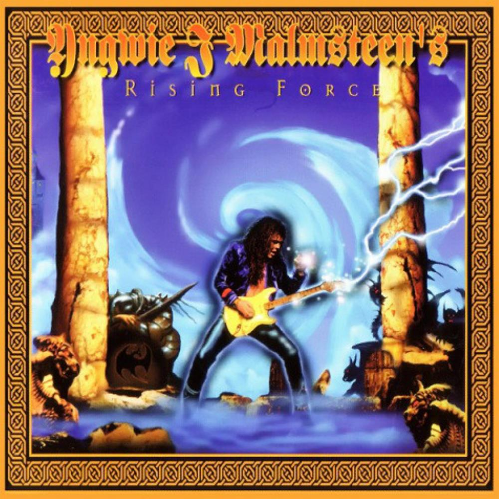 Yngwie Malmsteen Rising Force: Alchemy album cover