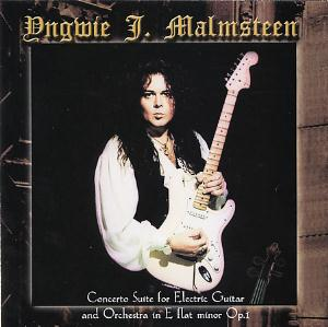 Yngwie Malmsteen - Concerto Suite For Electric Guitar And Orchestra In E Flat Minor Op.1 CD (album) cover