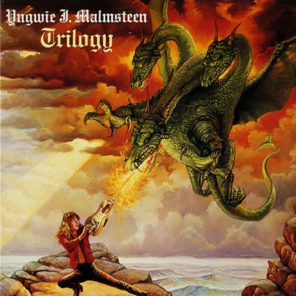 Yngwie Malmsteen Trilogy album cover