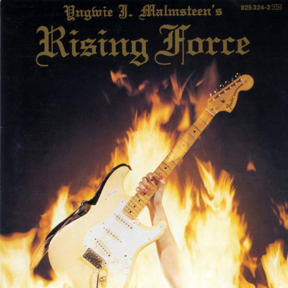 Rising Force by MALMSTEEN, YNGWIE album cover